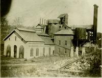 Moselem Furnace prior to demolition (Nora, Berks County, Pa.)