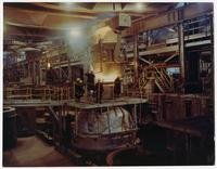 Vacuum degassing station, Bethlehem Steel Corporation
