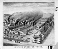 Keystone Bridge Company works (Pittsburgh, Pa.)