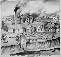 Lucy blast furnaces, Carnegie Brothers and Company (Pittsburgh, Pa.)