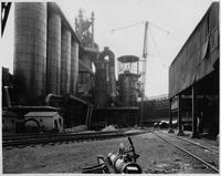 Blast furnace showing Feld Washers, Bethlehem Steel Company (Lackawanna, N.Y.)