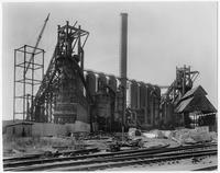 Blast furnace construction, Bethlehem Steel Corporation (Sparrows Point, Md.)