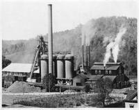 Blast furnace producing ferrophosphorus, J.J. Gray Furnace (Rockdale, Tenn.)