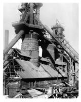 Blast furnaces converted to skip car loading system, Cambria Plant, Bethlehem Steel Company (Johnstown, Pa.)