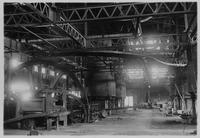 Muck bar mill and puddling furnaces, Zug Iron and Steel Company