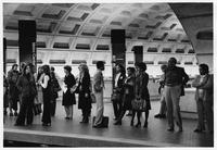 Metro underground station, (Washington, D.C.)