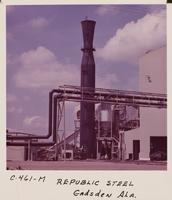 Precipitator of a basic oxygen furnace, Republic Steel Corporation (Gadsden, Ala.)
