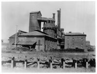Iron shell open top blast furnaces