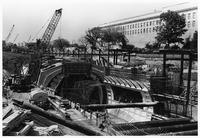 Metro under construction, (Washington, D.C.)