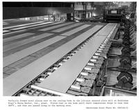 Cooling beds in sheared plate mill, Bethlehem Steel Company (Burns Harbor, Ind.)