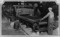 Continuous sheet normalizing furnace, Otis Steel Company (Cleveland, Ohio)