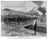 First troops in Homestead during Homestead strike