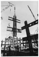Steel in use - Sears Tower under construction (Chicago, Ill.)