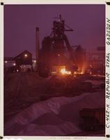 Blast furnace at night, Republic Steel Corporation (Gadsden, Ala.)