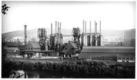 Steel-works viewed from across the Lehigh River, Bethlehem Steel Company (South Bethlehem, Pa.)