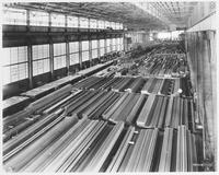Structural steel warehouse, Bethlehem Steel Corporation