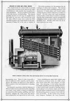 Advertisement for steel mill boilers
