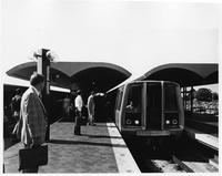 Metro surface station at National Airport, (Washington, D.C.)
