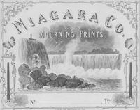 Niagara Company Mourning Prints textile label