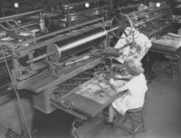 Painters at work in Print Works Division (Eddystone, Pa.)