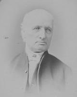 Portrait photograph of Joseph Bancroft, founder of Joesph Bancroft & Sons Co.