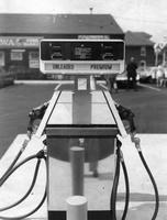 Gilbarco gasoline pump at the opening of the 200th Wawa store (Souderton , Pa.)