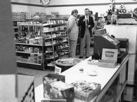 Cash register and store interior during opening of the 200th Wawa location (Souderton , Pa.)