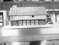 Cake in shape of a Wawa Food Store to celebrate the opening of the 200th location (Souderton , Pa.)