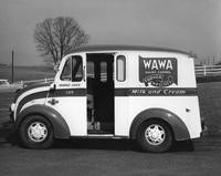 Wawa Dairy Farms Turner and Wescott home delivery truck