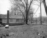 Tenant houses on the south side of Baltimore Pike near Wawa Dairy Farms milk processing plant