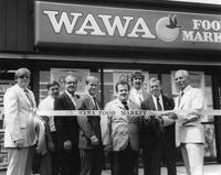 Ribbon cutting at the opening of the 200th Wawa store (Souderton , Pa.)