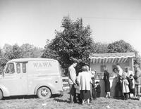 Wawa Dairy Farms stand at Chester Heights Horse Show