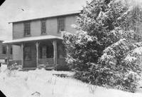 Wawa Dairy Farms plant manager, Harry Farber, house on Alfafa Lane in the snow
