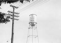 Millville Manufacturing Company water tower