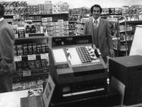 Larry Bershstein at the opening of the 200th Wawa store (Souderton , Pa.)
