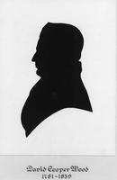 Silhouette of David Cooper Wood, merchant and iron master in Millville, N.J.