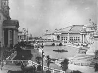 South Canal at World's Columbian Exposition