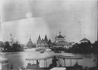 Lagoon View from Horticultural Building at World's Columbian Exposition