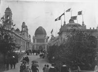 Looking South to Administration Building (Center) at World's Columbian Exposition