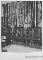 Dining room tapestry at Evermay, home of F. L. Belin