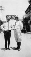 Mac and Dr. Cornell in Nogales, Ariz. during Charles Augustus Belin trip