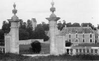 Chateau de Brecy, second garden gate