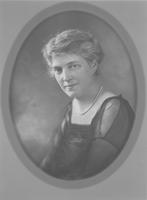 Unidentified woman, member of the Belin family