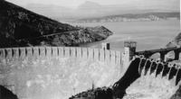 Roosevelt Dam photographed during Charles Augustus Belin trip