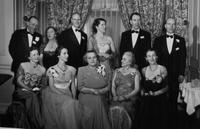1950 du Pont family reunion group portrait, Print No. S-13