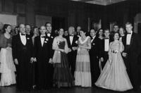 1950 du Pont family reunion group portrait, Print No. CM2-2