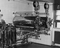 Operating room sterilizer at Chester County Hospital