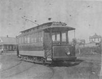 Trolley Car operated by the Dallas Consolidated Electric Street Railway Company