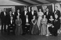 1950 du Pont family reunion group portrait, Print No. MI-15