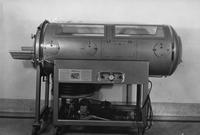 Iron lung at Chester County Hospital